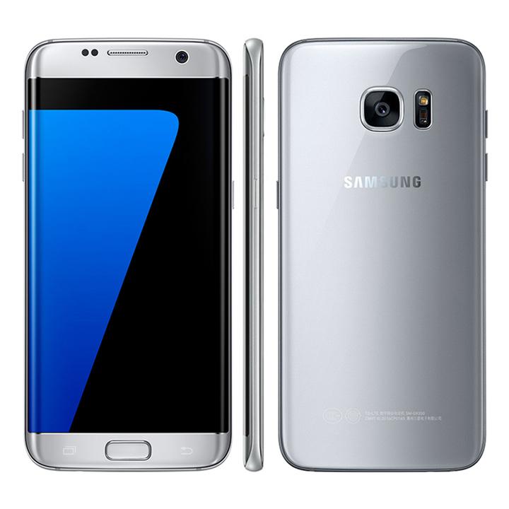 Refurbished Samsung Galaxy S7 edge Original Unlocked 4G LTE  12MP&5MP RAM 4GB ROM 32GB WIFI GPS silver 4+32g single sim
