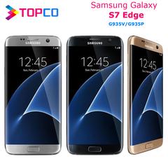 Refurbished Samsung Galaxy S7 edge Unlocked 4G+32GB/64GB WIFI GPS Camera 12MP+8MP selectionA:random 32g single sim