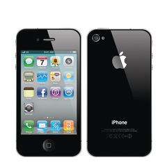 Certified Refurbished Apple iPhone 4 Cell Phones 8/16/32GB 512MB 5MP Camera IOS 3.5 inch black 16G