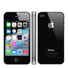 Certified Refurbished 8GB/16GB/32GB/64GB Apple Iphone 4s A5 Dual core 512MB Storage 8MP TouchScreen Black 8GB