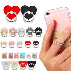 Universal Finger Ring Mobile Phone Smartphone Stand Holder For iPhone Xiaomi Samsung Smart Phone Random Color one size