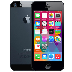 Certified Refurbished iPhone 5 Cell Phone 1G RAM 16GB/32GB/64GB ROM IOS Dual-core 4.0 inches Phone Black 16GB