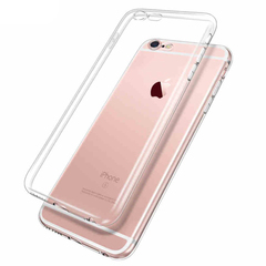 iPhone6 6S 4 4S 5C SE 5S 5SE 7 Plus x xs 8 Cell Phone TPU Back Cover transparent mobile phone case white iphone4/4S