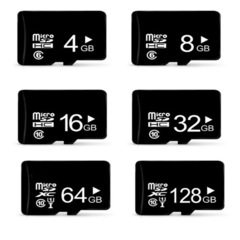 Real capacity Micro sd card & mini sd card & Memory Card 4GB/8GB/16GB/32GB microsd phone MP3 MP4 black one size 32G ONE SIZE