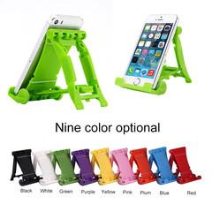 Car Universal Mobile Phone Lazy Folding Bracket Video Tablet Adjustable Desk Stands Holder random color one size