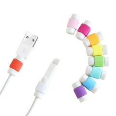 USB Data Cable Line Protector Phone Case Anti Breaking Protective Sleeve random color one size