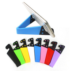 V-Shape Phone Holders Car Phones Lazy Stents Fixed Brackets Stand Bases Holder Rack Supporters random color one size