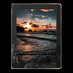 Certified Refurbished Apple Tablet Apple iPad 2  9.7-inch Silver White ipad2 16G WiFi Black(16GB+WIFI)