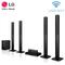 LG LHD-657 Home Theatre System - Powerful Sound 1,000W, 5.1CH Surround System, FM Radio, Bluetooth Black