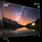 """TCL 55P6501 -55"""" 4K UHD LED Smart TV Black 55 inch"""