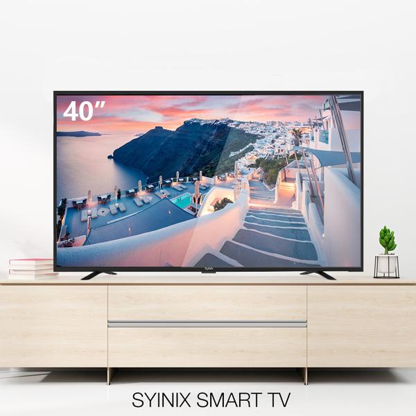 """SYINIX 40T730F - 40"""" Full HD Smart TV black 40 inch"""