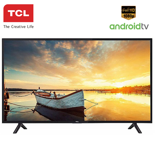 "TCL 40S6501 40""  Full HD Smart Android TV black 40 inch"