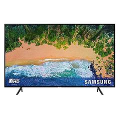 Samsung 49NU7100 49 Inch 4K UHD Smart Flat Series 7 TV with HDR black 49 inch