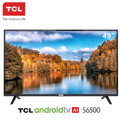 TCL 49'' Full HD LED Smart TV, 49S6500, ANDROID TV black 49 inch