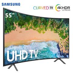 "Samsung  55"" - UHD 4K Curved Smart LED SERIES 7 TV - HDR black 55 inch"