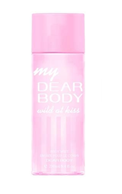 Dear body wild at kiss body splash as in the picture