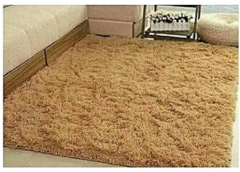Warm Soft Cosy Fluffy Carpet beige 7*8