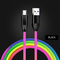 K&A Android mobile phone USB Charger USB data Cables Adapter  INFINIX/Huawei/TECNO/ Apple iPhone/mi black Android (Micro USB)