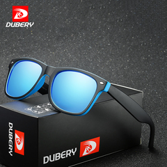 DUBERY Brand Design Polarized Sport Sunglasses Unisex Men Women Driver Shades Famale Mirror UV400 c1 one size