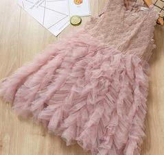 Baby Dresses Girls Dream Princess Skirts Girls Wears Clothes pink 100