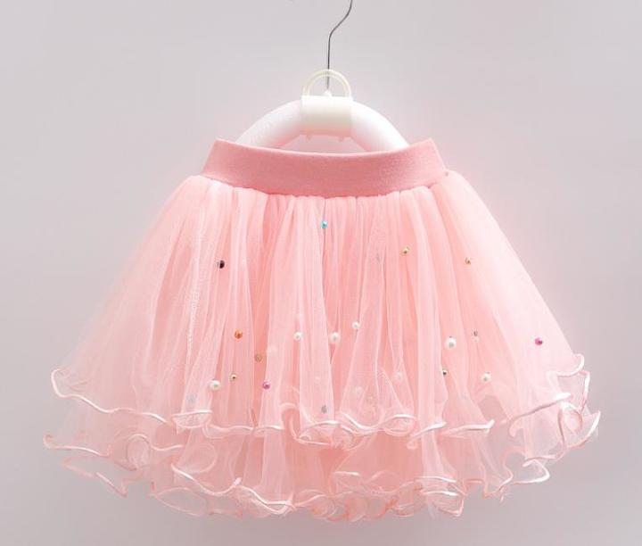 Kids Dresses Children Girls Short Skirts Girls Wears Summer Clothes pink 150