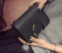 Women Mini Shoulder Bags New Fashion Mini Chain Gag 3 Colors black one size