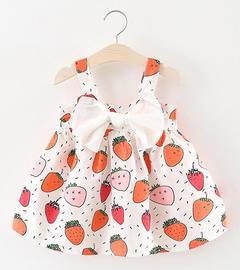 Baby Girls Dress Summer Girls Skirt Kids Clothes red 90