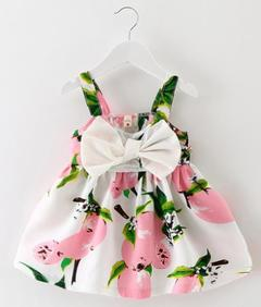 Baby Girls Skirts Summer Girls Dress Kids Clothes pink 90