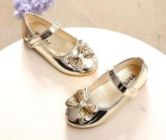 Girls Princess Shoes Party Shoes Dress Shoes gold 21