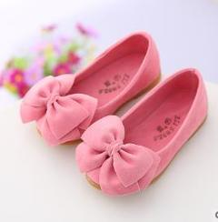 Baby Girls Butterfly Dress Shoes Princess Party Shoes 3 Colores pink 21