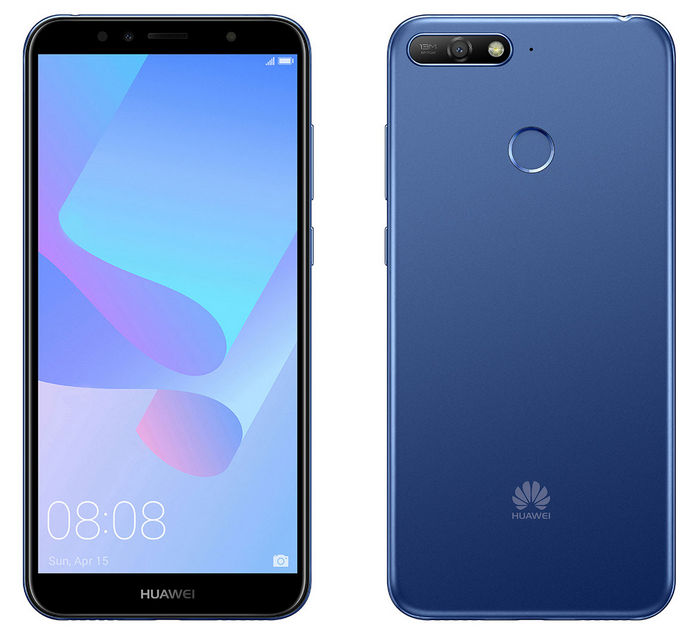 Huawei Y6 Prime (2018), 16GB + 2GB (Dual SIM) Smartphone Smart phone blue