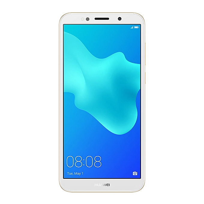 "Huawei Y5 Prime 2018, 5.45"", 16GB, 2GB RAM, 13MP Camera, (Dual SIM) gold"