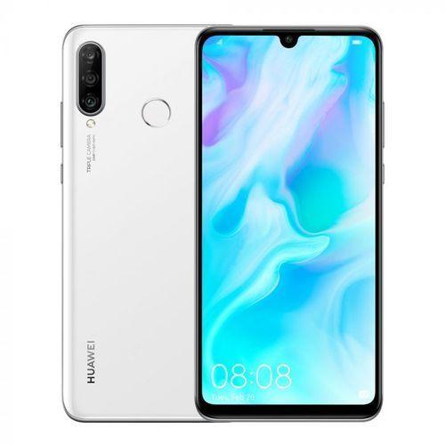 "Huawei P30 Lite, 6.15"", 128GB + 4GB (Dual SIM) Smartphone New Smart Phone white"