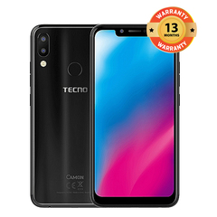 TECNO Camon 11, 64GB + 4GB (Dual SIM) Smartphone Smart Phone black