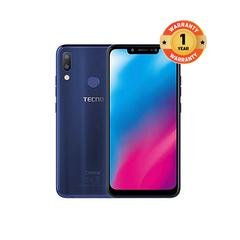TECNO Camon 11, 64GB + 4GB (Dual SIM) blue