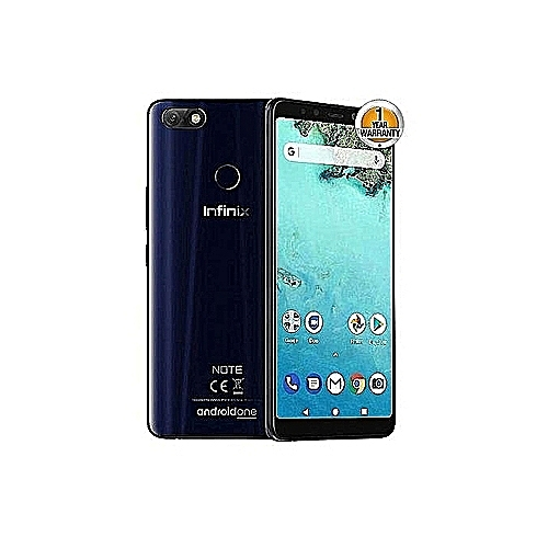 Infinix Note 5 (X604)-3GB, 32GB (Dual SIM), Ice Blue Ice Blue