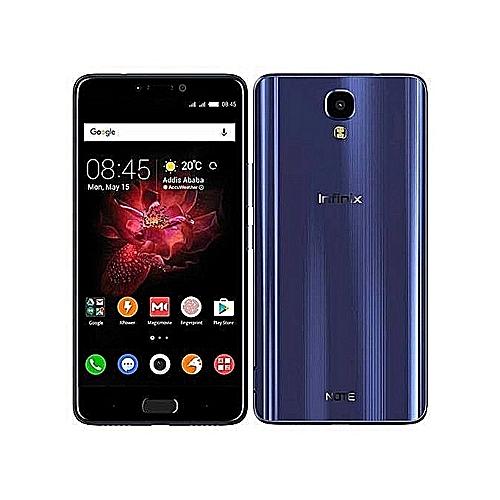 Infinix Note 4 (X572) -5.7- 16GB+2GB RAM - 13MP (Dual SIM) -Blue blue