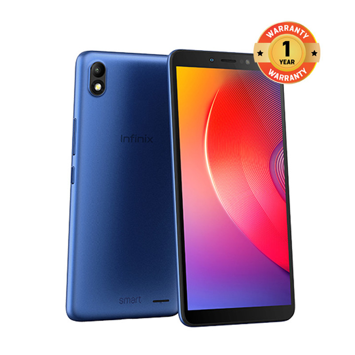 "Infinix Smart 3 - 5.5"",16GB,1GB, dual sim Camera 13mp,4G blue"