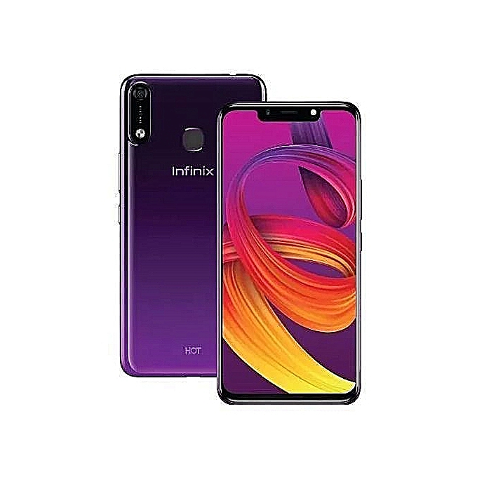 Infinix Hot 7 (X624B), 32GB + 2GB (Dual SIM), 4000 mAh, Infinix Smartphone New Smart phone purple