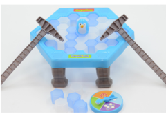 Rescue penguins knock ice blocks break ice blocks boys and girls board games benefit intelligence as picture 22.5*7.5cm
