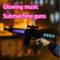 Children's electric guns toy guns glow music flash submachine guns