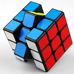 【New Year Gift】 New Third-order Rubik's cube game dedicated decompression toy educational toy gift random One size