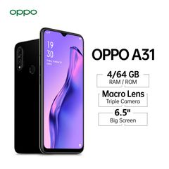 OPPO A31 Smart Phones 6.5