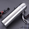 New high quality straight body vacuum flask stainless steel thermos cup silver 500ml