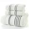 Adult cotton  bathroom 3 piece set towel,home towels white 2-74*34   1-70*140