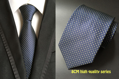 Professional business tie for casual wear polyester jacquard patterns available for men and women a11 oen size