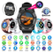New V8 Wireless Smart Watch Bluetooth Reminder Monitor Anti-lost Camera for Android white one size