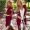 BNS 2019 Printed Long Sleeve Women Cardigan Casual Irregular Wrap Tops Plus Size Thin Sweater 5XL Red XL