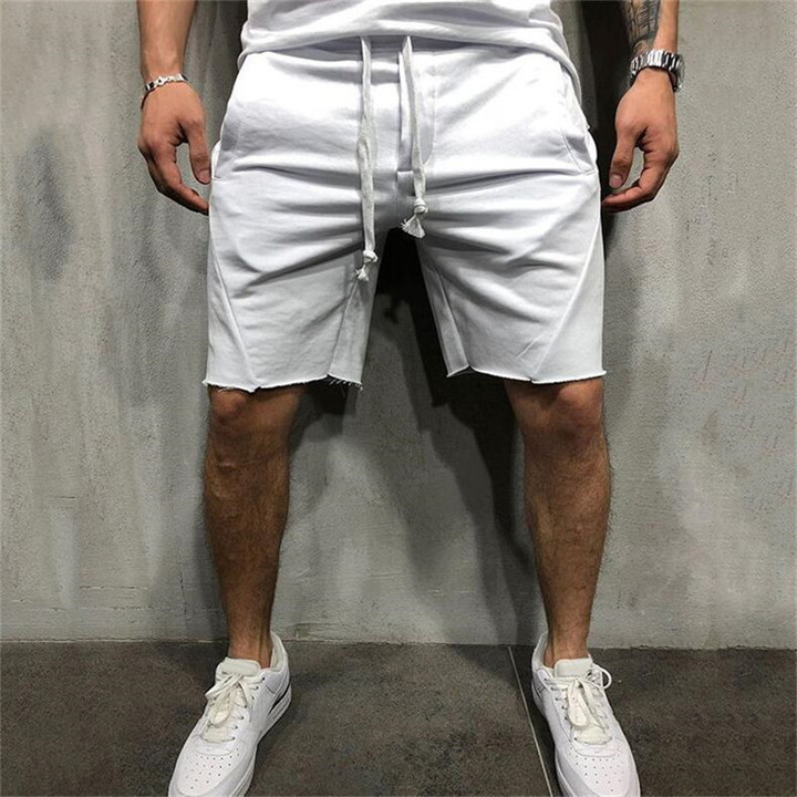 2019 new summer brand high quality cotton men's shorts 1 s