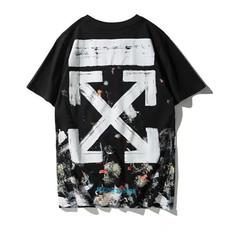 2019 cotton casual print T-shirt top fashion short-sleeved men 1 m cotton